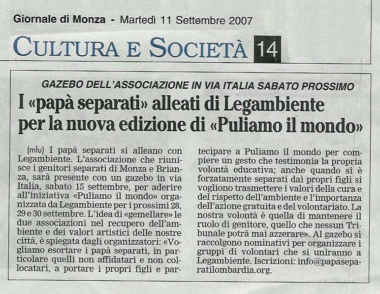 PAPA' SEPARATI LOMBARDIA / Affido Condiviso dei Minori ...